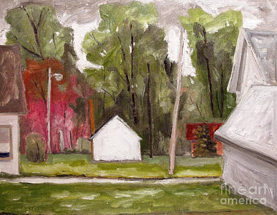 Dogwoods In Bloom Art Print by Charlie Spear