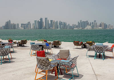 Photograph - Doha Park View by Paul Cowan