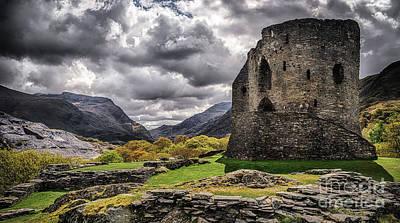 Ancient Ruins Photograph - Dolbadarn Castle  by Amanda Elwell