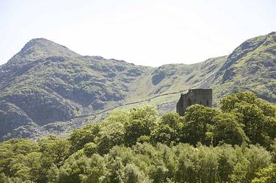 Dolbadarn Castle.  Art Print by Christopher Rowlands