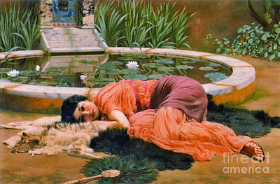 Photograph - Dolce Far Niente 1890 by Padre Art