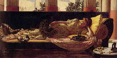Dolce Far Niente Art Print by John William Waterhouse