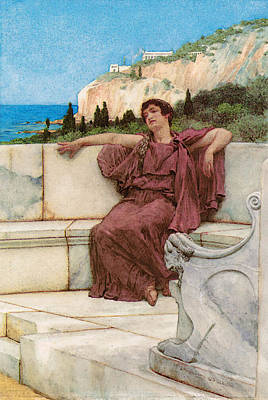 Dolce Far Niente Art Print by Lawrence Alma Tadema