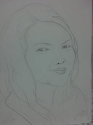 Drawing - Dolce Moglie by SAIGON De Manila