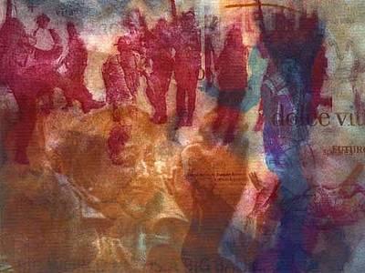 Pity Mixed Media - Dolce Vita. La Pieta  by Giovanni Greppi