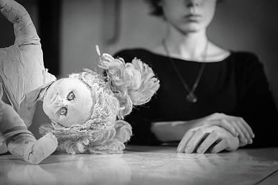 Photograph - Doll #3116 by Andrey Godyaykin