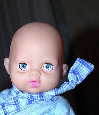 Acquamarine Photograph - Doll Face by Alessio Marziali