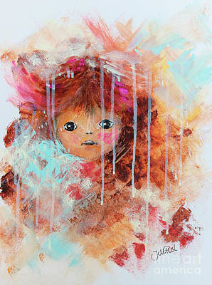 Painting - Doll by Jutta Maria Pusl