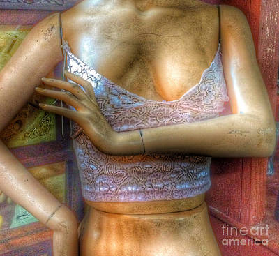 Lingerie Photograph - Doll Skin  by Steven Digman