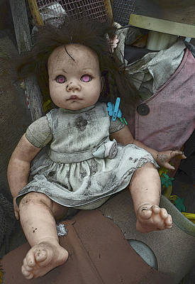 Photograph - Doll W by Char Szabo-Perricelli