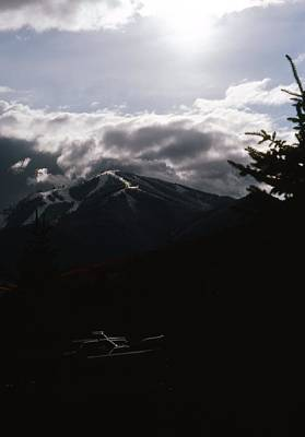Photograph - Dollar Mountain Ski Area by John Schneider