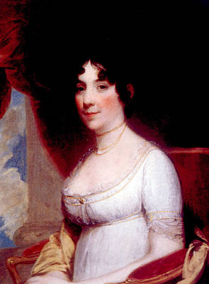 Dolley Madison Photograph - Dolley Madison 1768-1849, First Lady by Everett