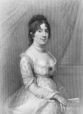 Dolley Madison (1768-1849) Art Print