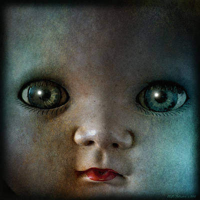 Photograph - Dollface by WB Johnston