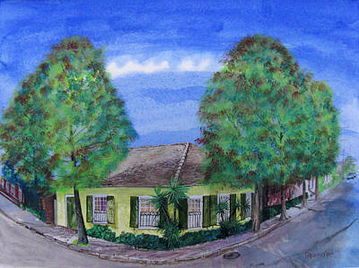 Dolliole Cottage Art Print by Tom Hefko