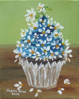 Painting - Dollop Of Daisies by Judith Rhue