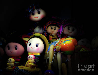 Photograph - Dolls by Camille Pascoe