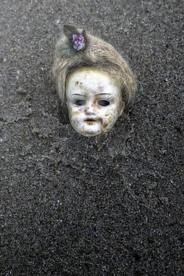 Doll's Head Art Print by Joana Kruse
