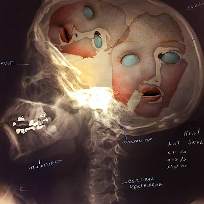 Head Wall Art - Photograph - Dolls On The Brain by Subject Dolly