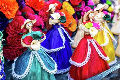 Photograph - Dolls by Tina Ernspiker