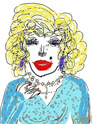Digital Art - Dolly by Kathy Barney