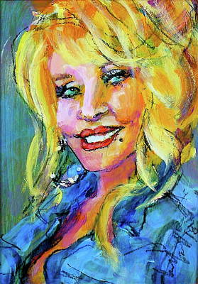 Painting - Dolly by Les Leffingwell