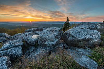 Monongahela National Forest Dolly Sods Wilderness Sunrise Art Print