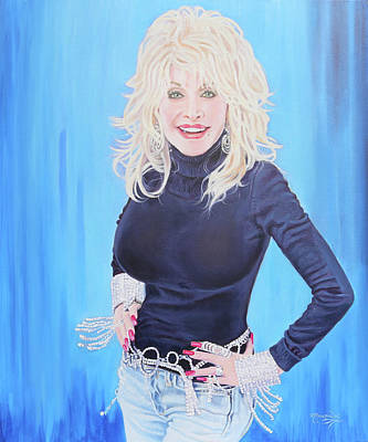 Painting - Dolly Sparkling The 2000s by Maria Modopoulos