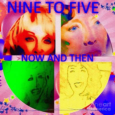 Nine To Five Digital Art - Dolly's Song by Caroline Gilmore