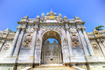 Photograph - Dolmabahce Palace Istanbul Turkey by David Pyatt