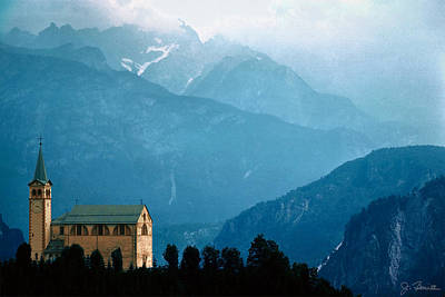 Photograph - Dolomite Church by Joe Bonita