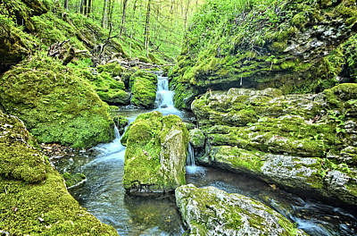 Photograph - Dolomite Creek 2 by Bonfire Photography
