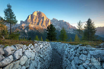 Dolomite Dawn Art Print