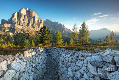 Dolomite Morning Art Print