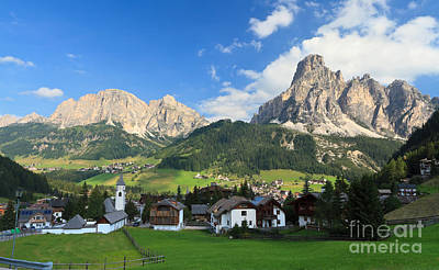 Photograph - Dolomites - Corvara In Badia by Antonio Scarpi