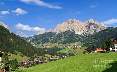 Photograph - Dolomites - Val Badia by Antonio Scarpi
