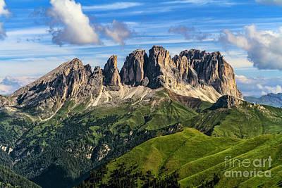 Photograph - Dolomiti - Sassolungo -langkofel Mount by Antonio Scarpi