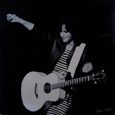 Dolores Painting - Dolores O'riordan Of The Cranberries by Kristin Wetzel