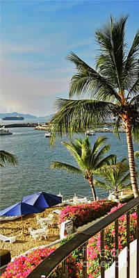 Photograph - Dolphin Cove Inn, Manzanillo, Mexico by Tatiana Travelways