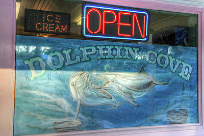 Photograph - Dolphin Cove Window by Donna Kennedy