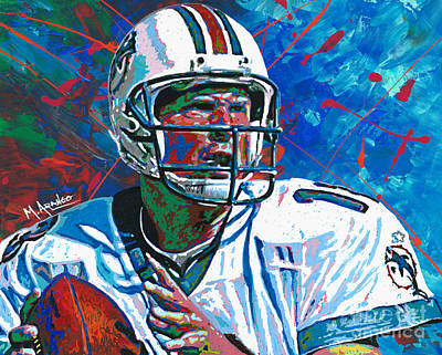 Painting - Dolphins Legend by Maria Arango