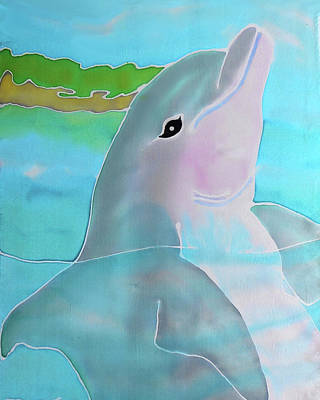 Painting - Dolphin Smile by Tiff