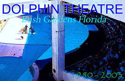 Painting - Dolphin Theatre Show 1980 - 2003 by David Lee Thompson