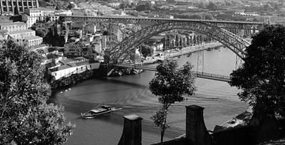 Photograph - Dom Luis Bridge Porto 2 by Andrew Fare