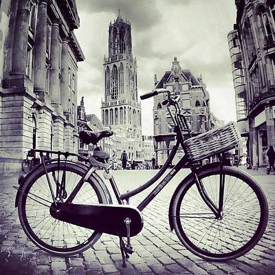 Cycling Wall Art - Photograph - Dom Tower by Jonathan P