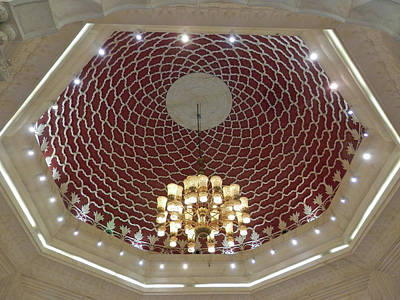 Photograph - Dome And  Chandelier by Pema Hou