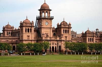 Photograph - Dome And Main Building Of Islamia College University Peshawar Pakistan by Imran Ahmed
