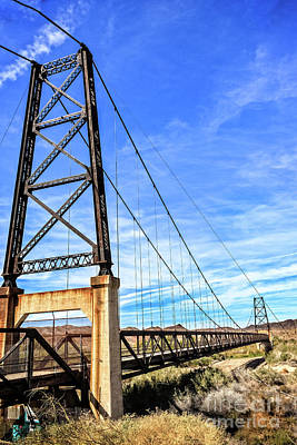 Art Print featuring the photograph Dome Bridge by Robert Bales