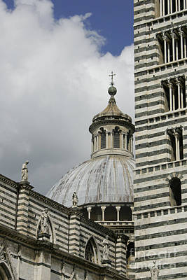 Photograph - Dome In Siena by Stan and Anne Foster