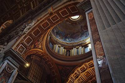Photograph - Dome In The Basilica by JAMART Photography